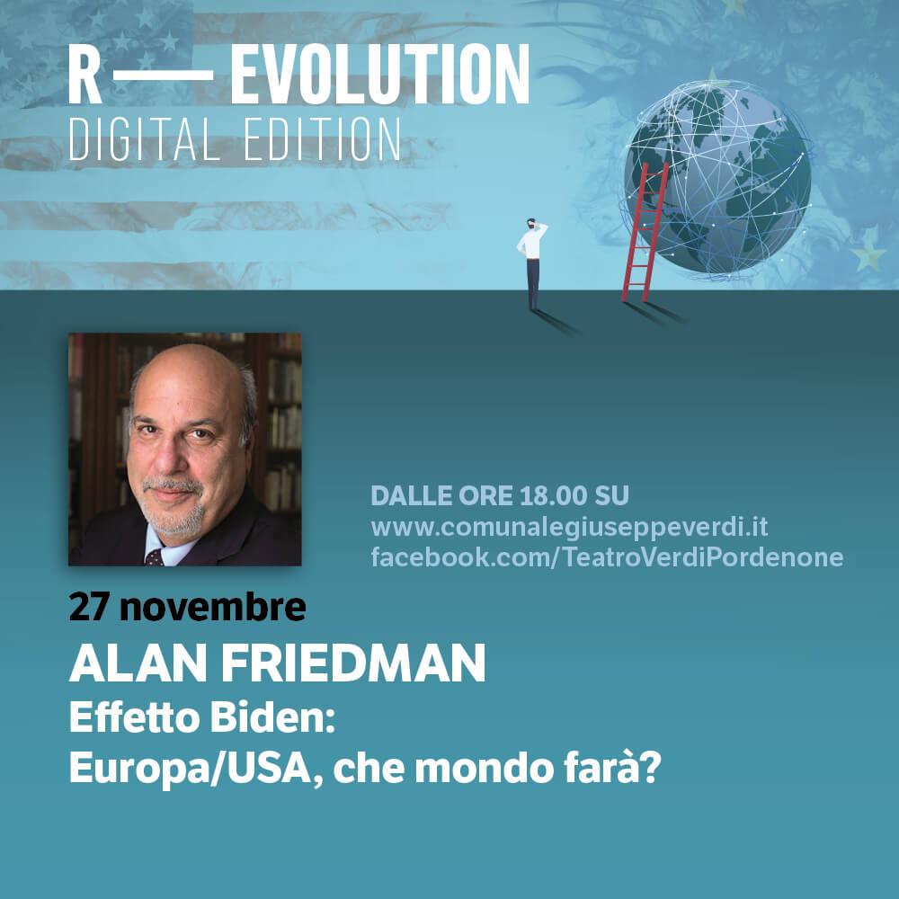 R-EVOLUTION: Alan Friedman
