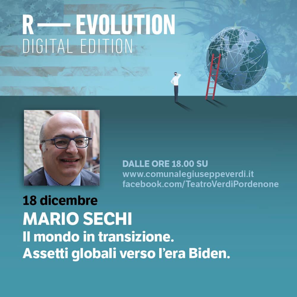 R-EVOLUTION: Mario Sechi