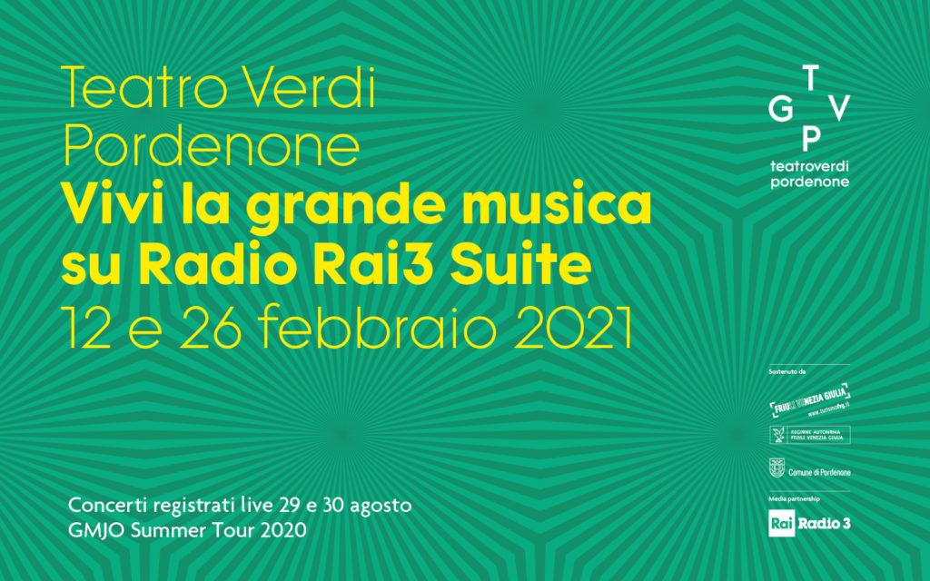 TGVP due grandi concerti su RAI Radio3