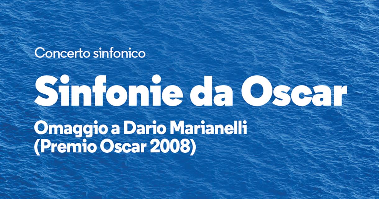 SINFONIE DA OSCAR<br>OMAGGIO A DARIO MARIANELLI