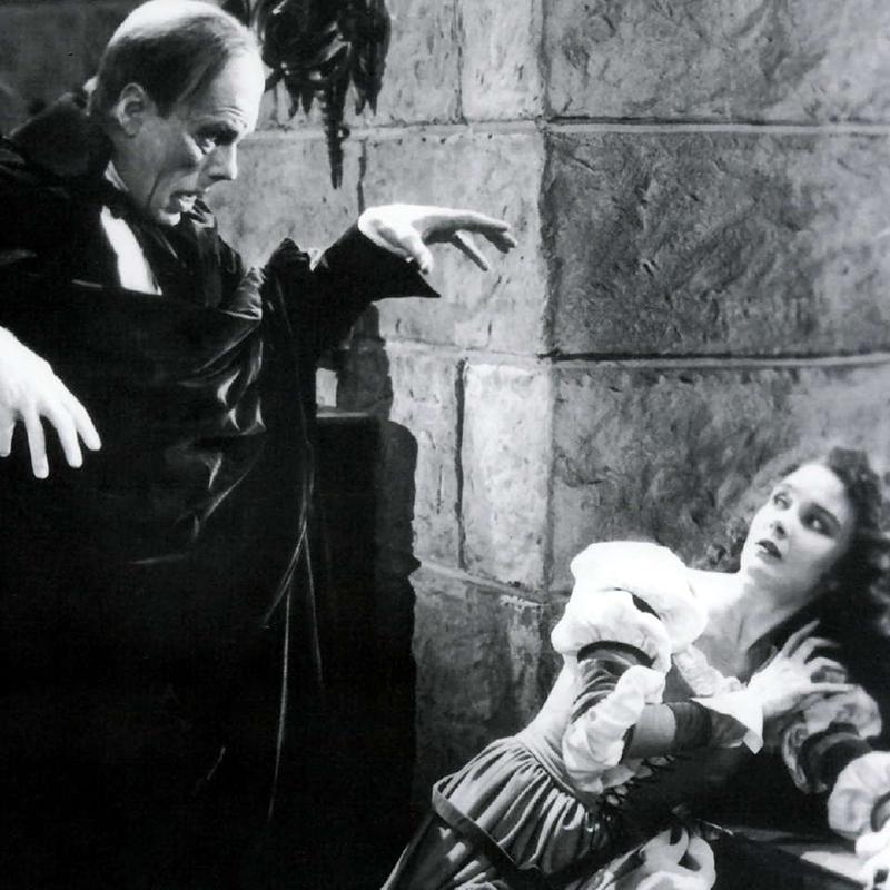 THE PHANTOM OF OPERA – IL FANTASMA DELL'OPERA (1925)<br>DI RUBERT JULIAN, CON LON CHANEY