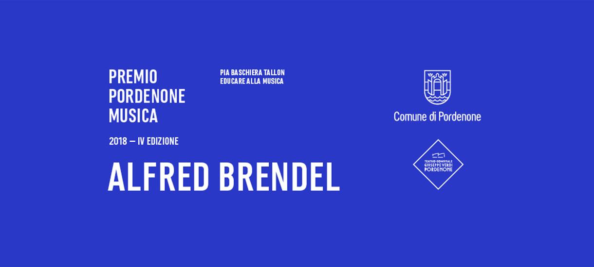 PREMIO PORDENONE MUSICA<br>ALFRED BRENDEL