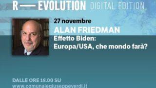R-EVOLUTION 2020 DIGITAL EDITION: ALAN FRIEDMAN